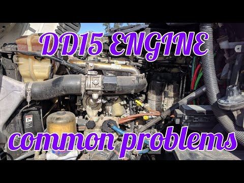 DD15 ENGINE common problems OM 472 MERCEDES BENZ