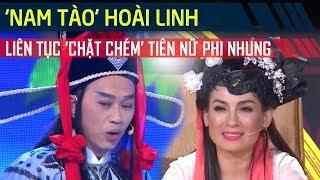 'Nam Tào' Hoài Linh tiếp tục chặt chém 'Tiên Nữ' Phi Nhung trên thiên đình