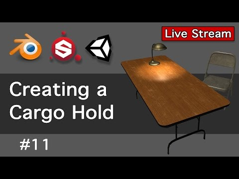Creating a Cargo Hold 11-Live Stream