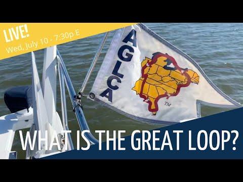 great lakes sailing, caribbean sailing, the great loopers, on sailing the great loop map
