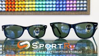 Ray-Ban: New Wayfarer 55 vs Original Wayfarer 54 | SportRx(Our friends Rob and Carlos at SportRx talk about the differences between the Ray-Ban Original Wayfarer 54 and the Ray-Ban New Wayfarer 55. Although the ..., 2015-04-27T19:51:23.000Z)
