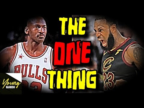 The ONE THING Lebron James And Michael Jordan NEVER DID!! - NBA 2K18 SIMULATION