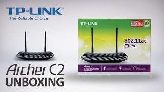 TP-Link AC750 Wireless Dual Band Gigabit Router (Archer C2) Unboxing Video