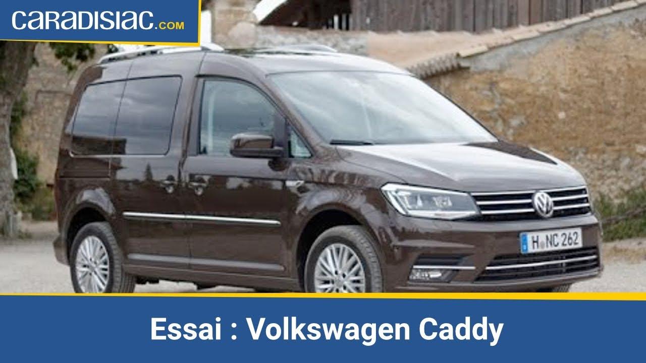 Essai Volkswagen Caddy Ludospace High Tech