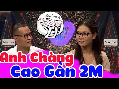 Chàng Trai Cao 2M Khiến Cô Nàng Bắc Thêm Thang Mới Tới HẸN HÒ TV - HẸN HÒ TV #22