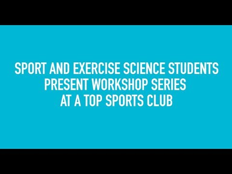 Sports and Exercise Nutrition students at Edgbaston Priory
