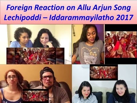 Foregin Reaction on Allu Arjun Song...