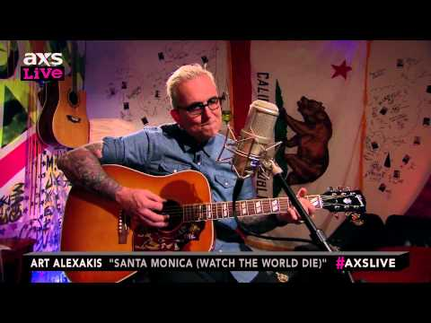"Art Alexakis Performs ""Santa Monica (Watch the World Die)"" on AXS Live"