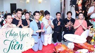 🎭 Nàng Tiên Vlog: Châu Ngọc Tiên đi cúng tổ sân khấu tại biệt thự thiên niên kỷ của Ba Ngọc Sơn