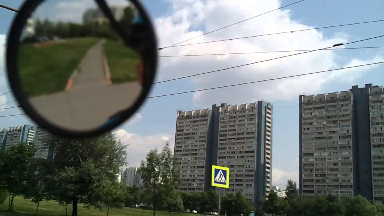 Зеркало заднего вида на велосипедный шлем - YouTube