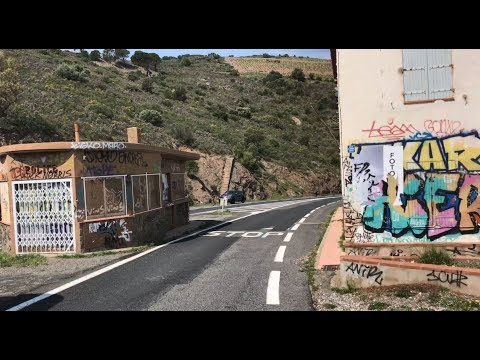 A Ghostly Border Station Between France and Spain