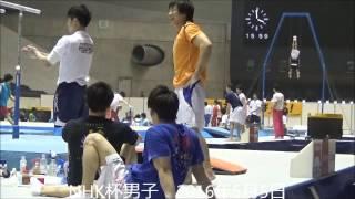 2016年NHK杯男子ポディウム練習