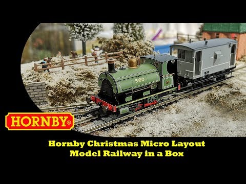 Hornby Christmas Micro Layout – Model Railway in a Box