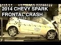2014 Chevy Spark | Frontal Crash Test | CrashNet1