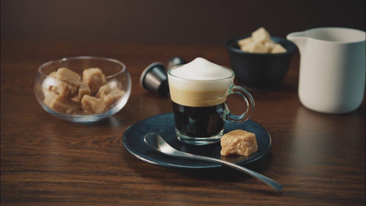 How to make espresso macchiato with nespresso machine