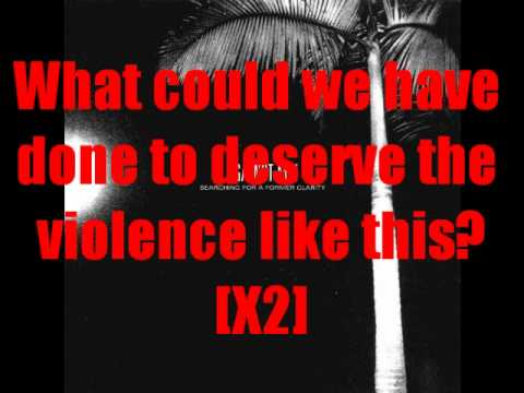Against Me! - Violence (Lyrics on Screen)