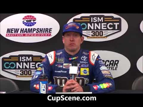 NASCAR at New Hampshire Motor Speedway, Sept. 2017:  Kyle Busch post race