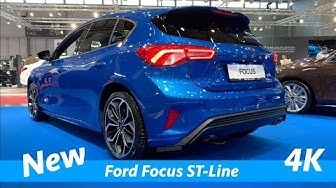 Ford Focus ST-Line 2019 - quick look in 4K - better than Opel Astra?