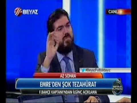 Beyaz Futbol'da Rasim Ozan'dan gaf Ertem Şener senin anneni...