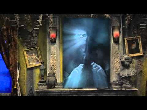 Haunted Portrait Ghostly Illusion Digital Animation CGI Special FX