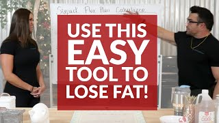 Use This Simple Tool to Lose Weight  | SixPack Abs Whiteboard Wednesday
