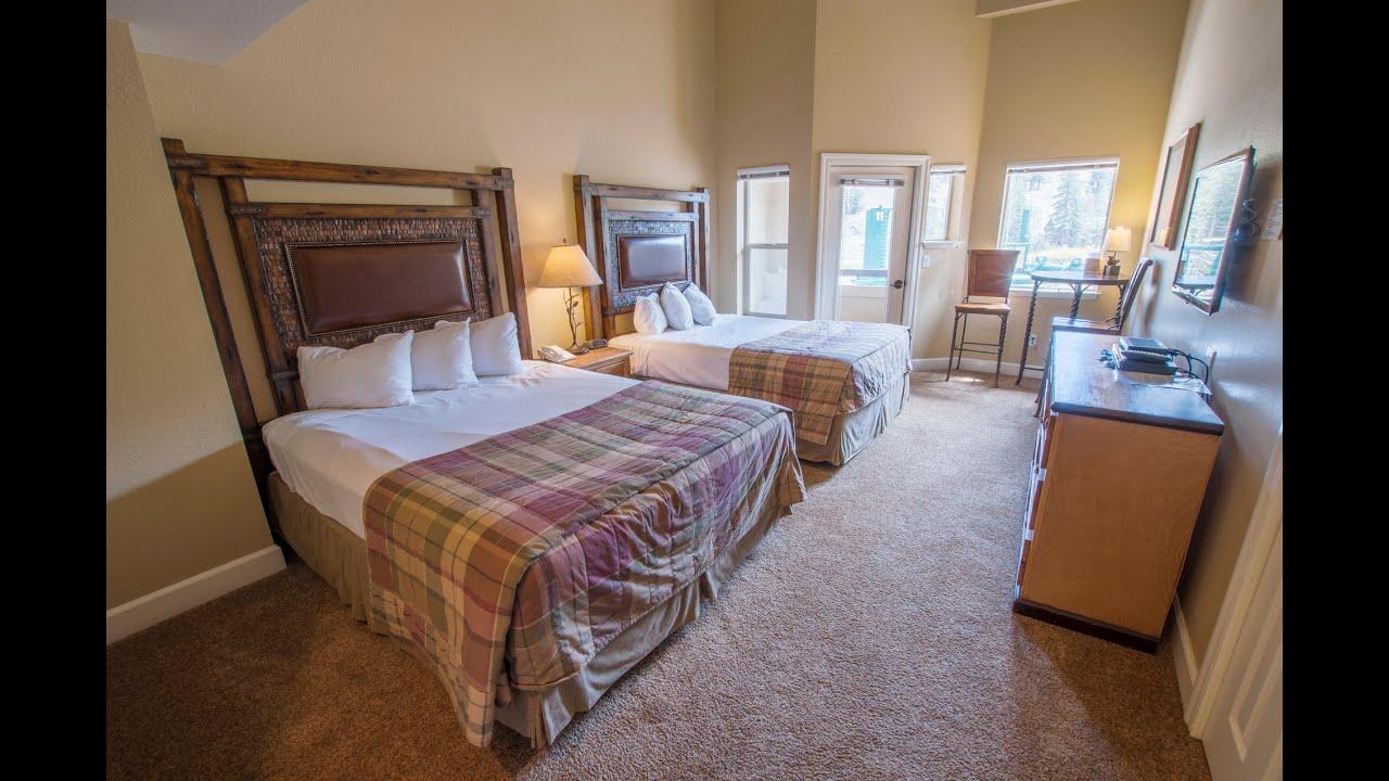 mountain club hotel room - views of the mountain - kirkwood ski resort