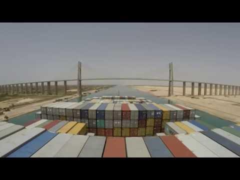 Mary Maersk Suez Canal Northbound