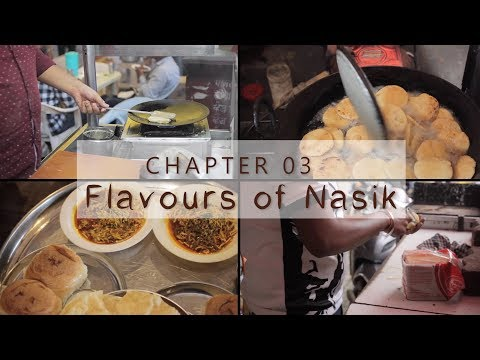 Flavours Of Nashik (chapter03) | Street Food | Travel Vlog 2017 |