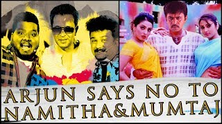 Arjun says no to Namitha, Mumtaj ? | Movie Nights | Sollividava | Black Sheep
