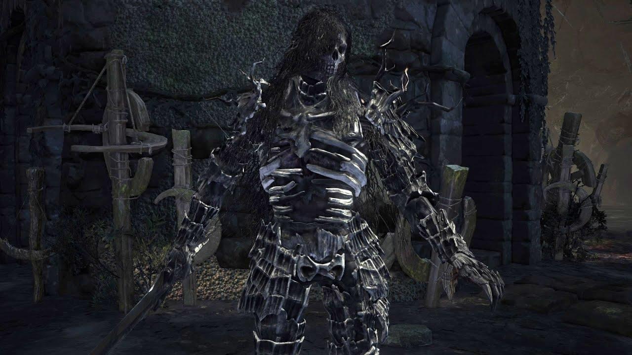 DARK SOULS 3 法蘭要塞下刷吸魂鬼的力16敏15黑暗劍 (懂路的很快到 XD)。 - YouTube