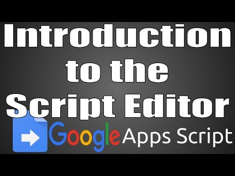 Education on Air: Introduction to the Script Editor