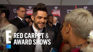 Thomas Rhett Talks Babies at 2017 iHeartRadio Music Awards | E! Live from the Red Carpet