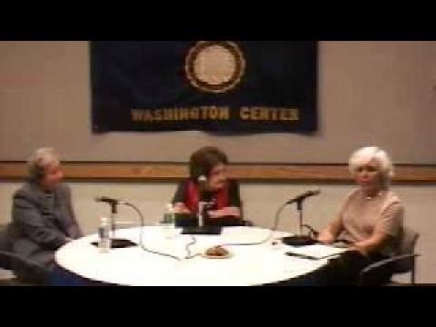 Helen Thomas and Fran Lewine White House Press Corps