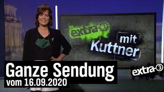 Extra 3 vom 16.09.2020 mit Sarah Kuttner | extra 3 | NDR