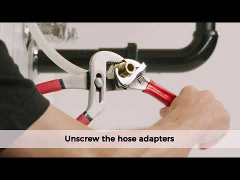 How To Replace Hot And Cold Side Valve Bodies For Pfister Widespread Bathroom Faucets