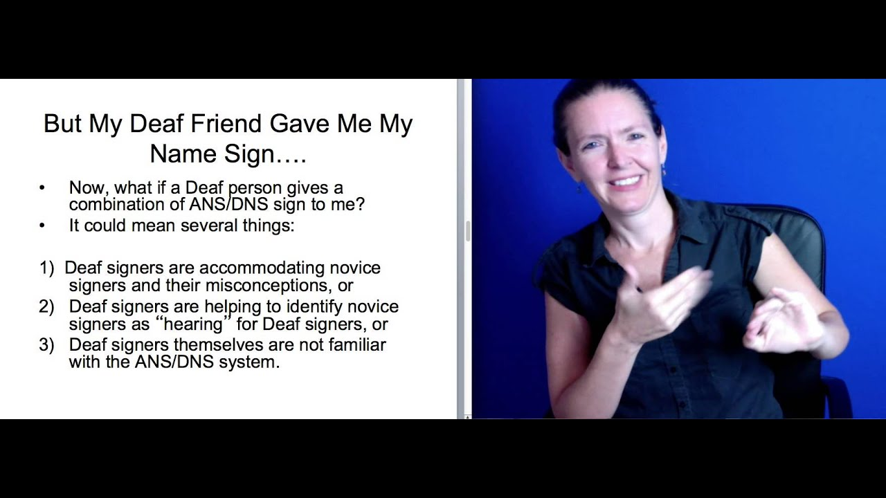Naming in American Sign Language