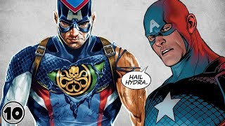 Top 10 Times Captain America Was A Bad Guy