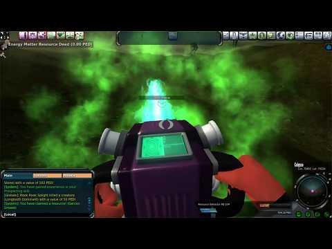 Entropia Universe: 25 PED Calypso Mining Run