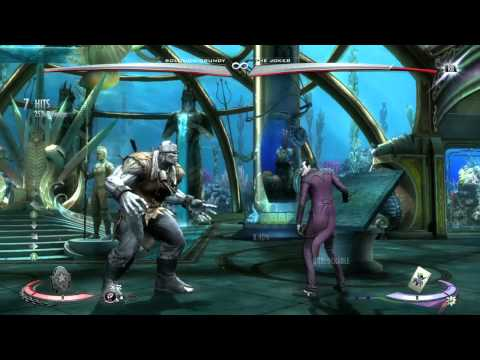Injustice Solomon Grundy How To Chain Grab (Trait)