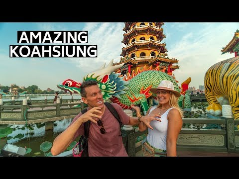 BEST THINGS TO DO IN KAOHSIUNG TAIWAN (台灣) | TAIWANESE STREET FOOD & NIGHT MARKET