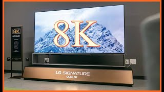 LG Z9 88 inch 8K OLED Hands On Review