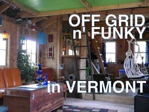 22 year old (and 18 year old) built this off-grid cabin/tiny house in Vermont