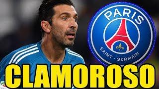 [NOTIZIA SHOCK] BUFFON al PSG • 7 MILIONI a STAGIONE || Calciomercato
