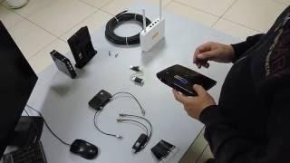 видео Высокоскоростной 4G 3G роутер с антенной в комплекте для уверенного приема сигнала