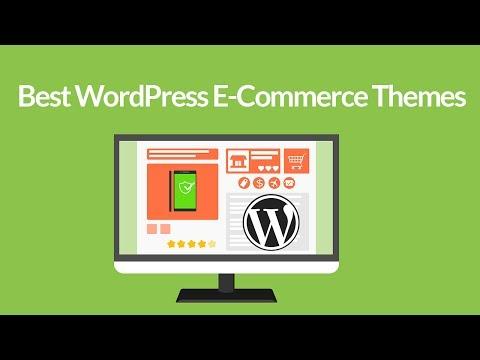 Best WordPress Ecommerce themes  2017 Free Ecommerce WordPress themes