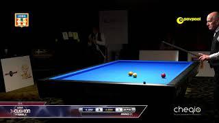 #2a Khalil DIAB vs Ahmet OZAN / 2018 USBA Three-Cushion Billiard National Championship