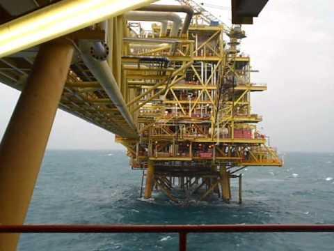 Azan on Angsi A Oil Platform (Offshore Kerteh, Terengganu, Malaysia)