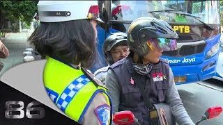 86 - Penertiban Jalur Busway di Jakarta - Bripda Inggried Febrian