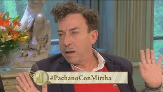 Almorzando con Mirtha Legrand 2014 - La fuerte frase de Aníbal Pachano y el apoyo a Ivo Cutzarida