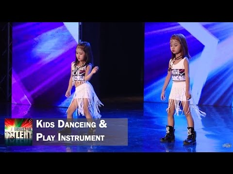 Kids dancing and playing instrument || Myanmar's Got Talent Season 3: This includes three acts, the sexy dance performed by two 9 years old kids, the traditional Thingyan dance, and playing Myanmar instrument. Only the last act which the kid plays the instrument passed the audition. Subscribe for more Got Talent here: http://bit.ly/MyanmarsGotTalent_YT Watch more from Talent from Myanmar here: http://bit.ly/MORE_MyanmarTalent  The judge audition is now on-air every weekend at 7:45 on MRTV4.  Watch the other videos from Season 1 and 2 from here: http://bit.ly/MORE_MyanmarTalent